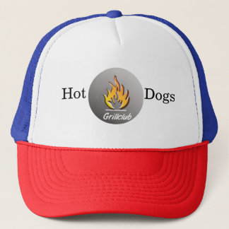 Hot Dogs grill Trucker cap