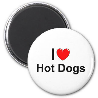 Hot Dogs Magnet
