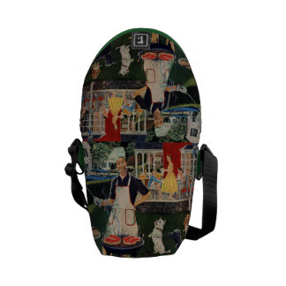Hot Dogs Messenger Bag