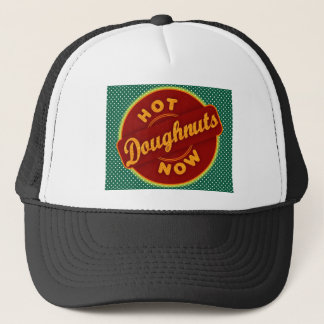 HOT DONUTS NOW.jpg Trucker Hat