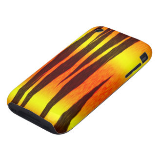 hot fire tiger stripes tough iPhone 3 covers
