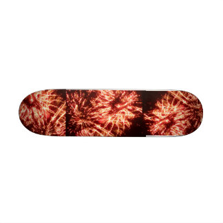 Hot Fireworks Skateboard