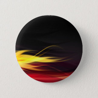 Hot Flames 6 Cm Round Badge