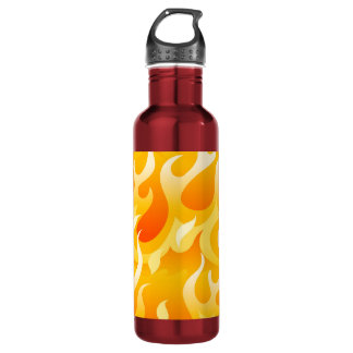 Hot flames 710 ml water bottle