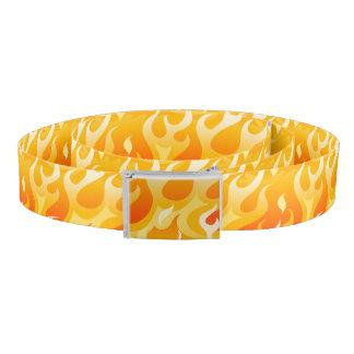 Hot flames belt