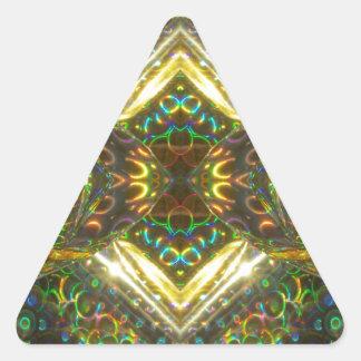 Hot Flash Triangle Sticker