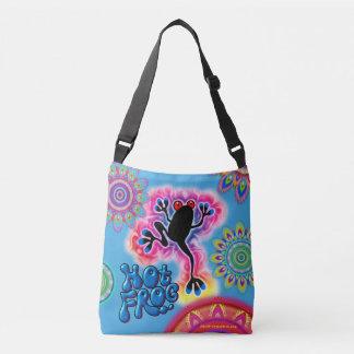 Hot Frog Boho Surf psychedelic cross-body bag