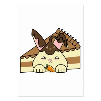 Hot Fudge Vanilla Hopdrop And Cake Business Card Templates