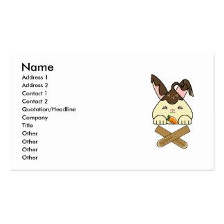 Hot Fudge Vanilla Hopdrop Crossticks Business Cards