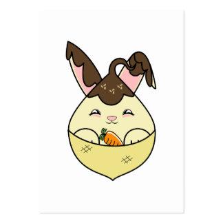Hot Fudge Vanilla Hopdrop Mini Cone Business Card