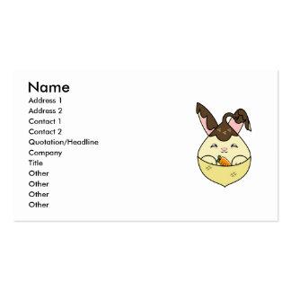 Hot Fudge Vanilla Hopdrop Mini Cone Business Cards