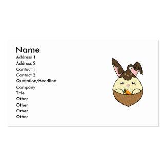 Hot Fudge Vanilla Hopdrop Mini Waffle Cone Business Card Templates