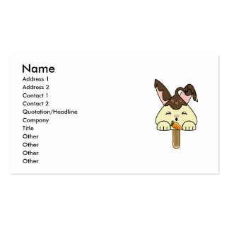 Hot Fudge Vanilla Hopdrop Pop Business Card Templates