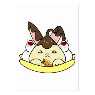 Hot Fudge Vanilla Hopdrop Split Business Card Template