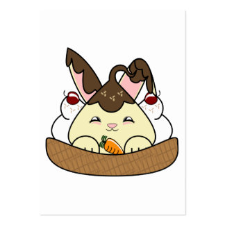 Hot Fudge Vanilla Hopdrop Waffle Sundae Business Card