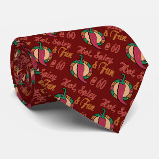Hot, Fun and Spicy 60th Tie