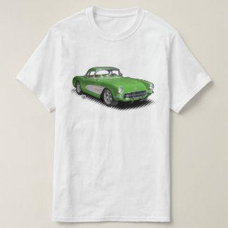 Hot Green 56-57 StingVetteRay t-shirt