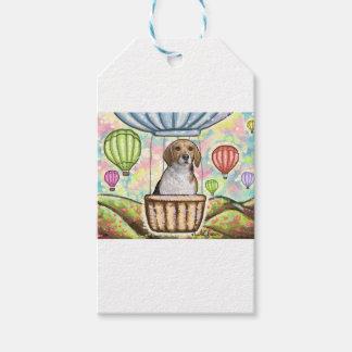 -hot hair balloon gift tags