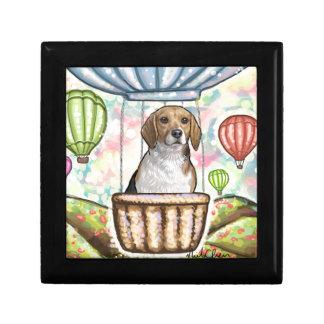 -hot hair balloon small square gift box