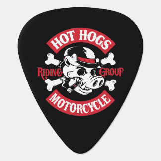 Hot Hogs™ Classic Black Guitar Picks Plectrum