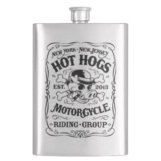 Hot Hogs™ Classic Flask