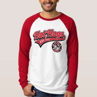 Hot Hogs™ Classic Mens Red Baseball Shirt