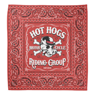 Hot Hogs™ Classic Red Bandanna