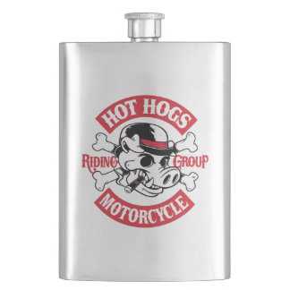 Hot Hogs™ Classic Rockers Flask