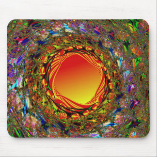 Hot Hole Mouse Pad
