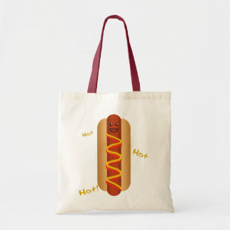 Hot Hot Hot Dog! Budget Tote Bag