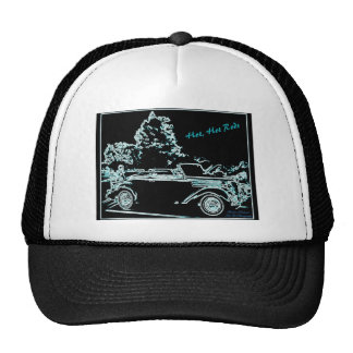 Hot Hot Rods Cap Trucker Hat