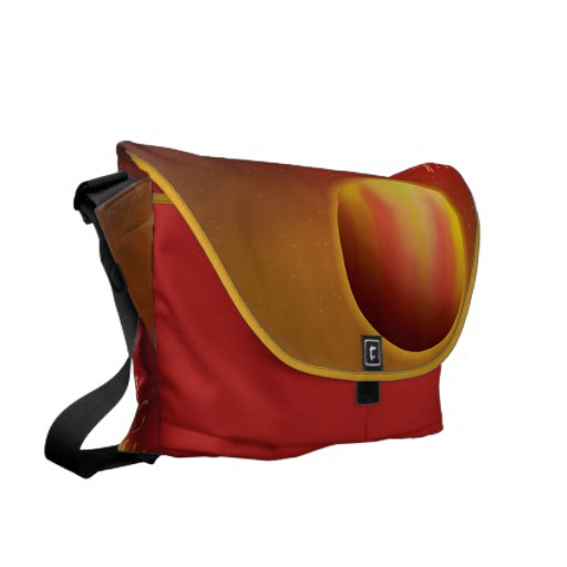 Hot Jupiter Messenger Bags