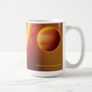 Hot Jupiter Basic White Mug