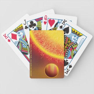Hot Jupiter Poker Cards