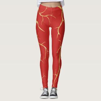 Hot Lava Gold | Leggings