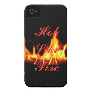 Hot Like Fire Blackberry Case