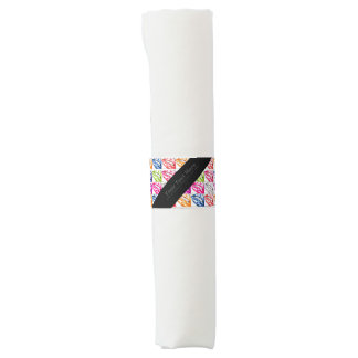 Hot Lips Pop Art Napkin Band