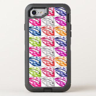 Hot Lips Pop Art OtterBox Defender iPhone 7 Case