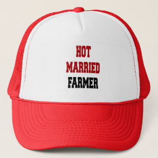 Hot Married Farmer Trucker Hat