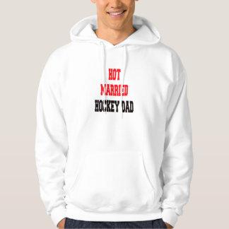 Hot Married Hockey Dad Hoodie