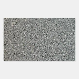 Hot Mix Bitumen Texture Rectangular Sticker