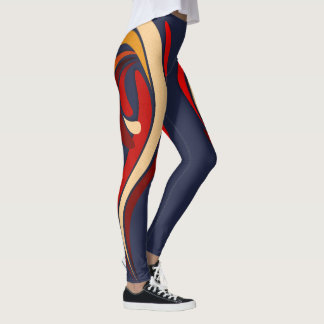 Hot Modern Classic Flourish Leggings