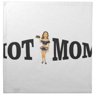 hot mom yeah napkin