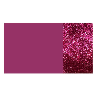 HOT NEON PINK SPARKLE GLITTER BACKGROUND PARTY FUN PACK OF STANDARD BUSINESS CARDS