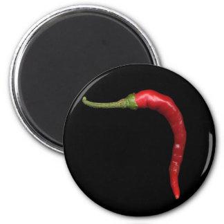 hot pepper 6 cm round magnet