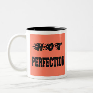 Hot Perfection Two-Tone Coffee Mug