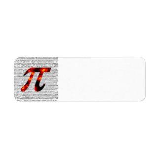 Hot Pi Return Address Label