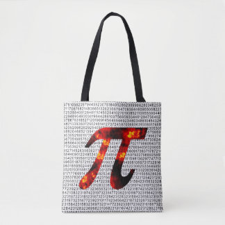 Hot Pi Tote Bag