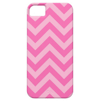 Hot Pink 2, Cotton Candy LG Chevron ZigZag Pattern Case For The iPhone 5