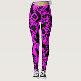Hot Pink Ancient Mythical Creature Leggings
